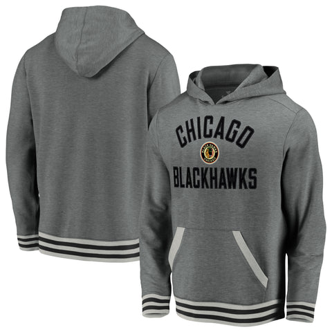 Chicago Blackhawks NHL Vintage Super Soft Fleece Hoodie