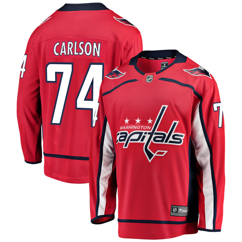 John Carlson Washington Capitals NHL Fanatics Breakaway Home Jersey