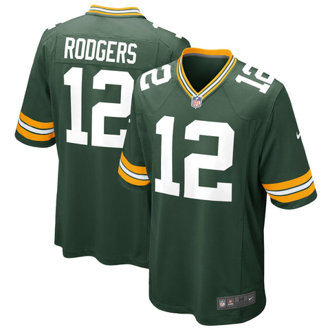 Youth Aaron Rodgers Green Bay Packers Nike Game Team Jersey
