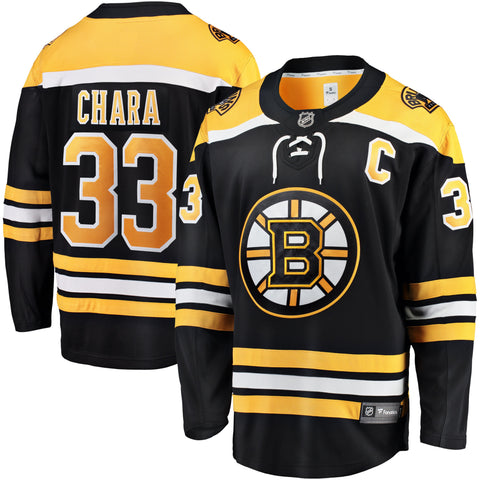 Zdeno Chara Boston Bruins NHL Fanatics Breakaway Home Jersey