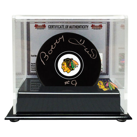 Bobby Hull Signed Chicago Blackhawks Puck