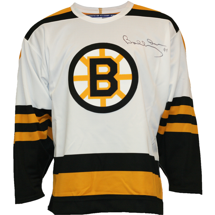 15d6db01873 Bobby Orr Signed Boston Bruins Away Jersey – Sport Army