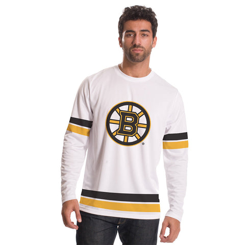 Boston Bruins Authentic Scrimmage Long Sleeve Shirt