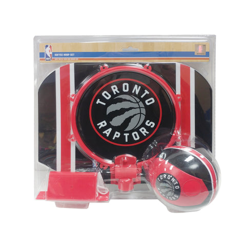 Toronto Raptors NBA Slam Dunk Softee Hoop Set