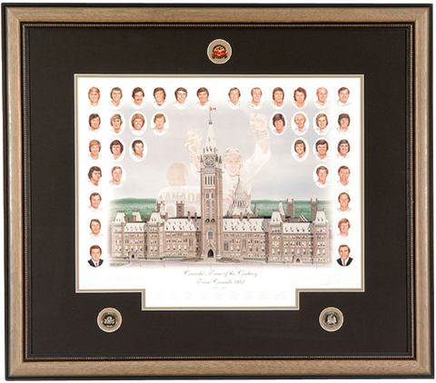 Canada's Team of the Century – Team Canada '72 Summit Series Limited Edition Print
