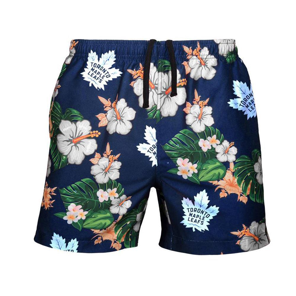 2dfdb7783d Men's Toronto Maple Leafs NHL Floral Slim Fit Swim Trunks – Sport Army