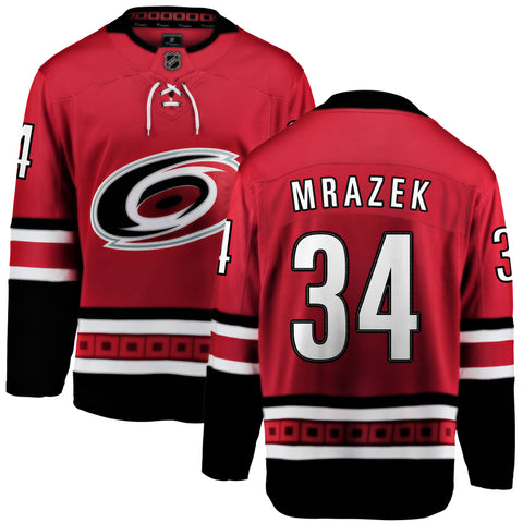 Petr Mrazek Carolina Hurricanes NHL Fanatics Breakaway Home Jersey