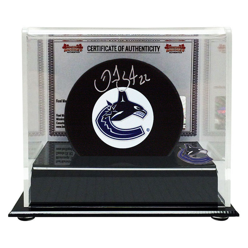 c97aa03ba09 Daniel Sedin Signed Vancouver Canucks Puck – Sport Army