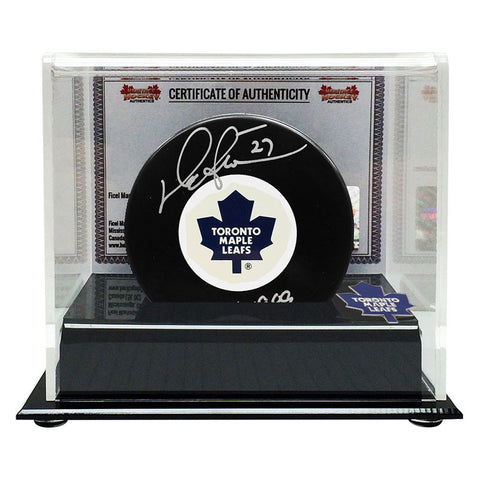 Darryl Sittler Signed Toronto Maple Leafs Puck