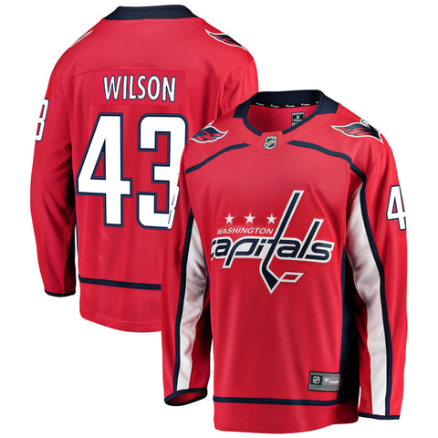 Tom Wilson Washington Capitals NHL Fanatics Breakaway Home Jersey