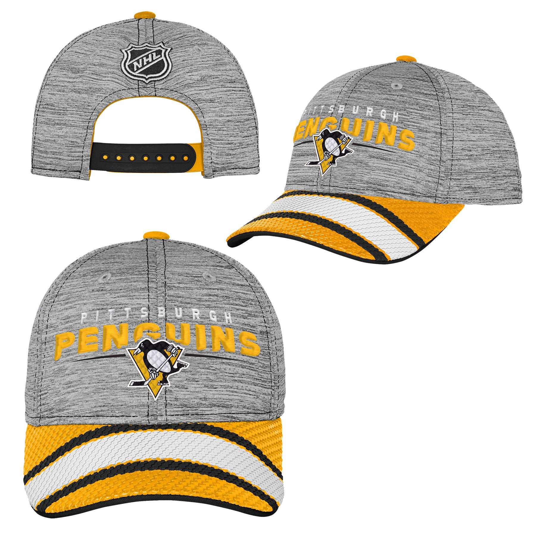 fed7fcdafd7 Youth Pittsburgh Penguins Second Season Player Cap – Sport Army