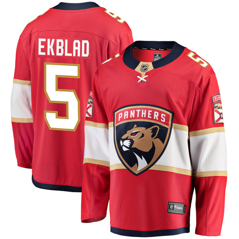 Aaron Ekblad Florida Panthers NHL Fanatics Breakaway Home Jersey