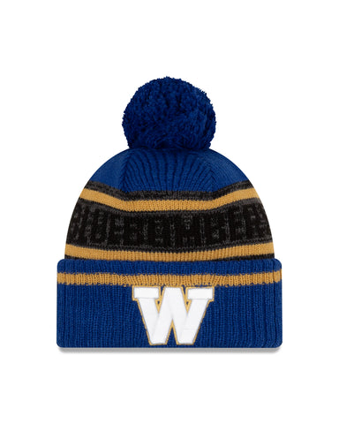 Men's Winnipeg Blue Bombers CFL On-Field Sport Knit Toque