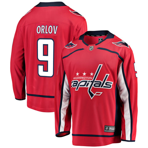 Dmitry Orlov Washington Capitals NHL Fanatics Breakaway Home Jersey