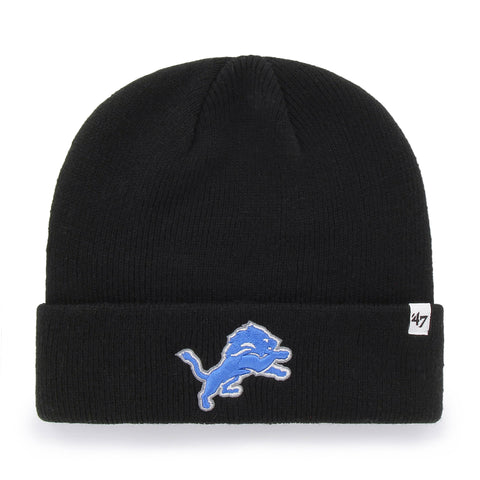Detroit Lions NFL Raised Cuffed Knit Beanie