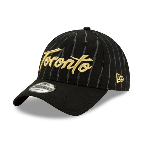 Men's Toronto Raptors NBA Authentics City Series Holiday Pack Striped 9TWENTY Adjustable Cap