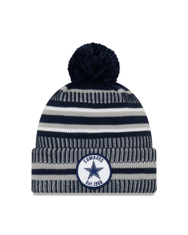 Dallas Cowboys NFL New Era Sideline Home Official Cuffed Knit Toque