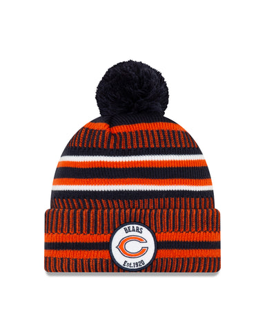 Chicago Bears NFL New Era Sideline Home Official Cuffed Knit Toque