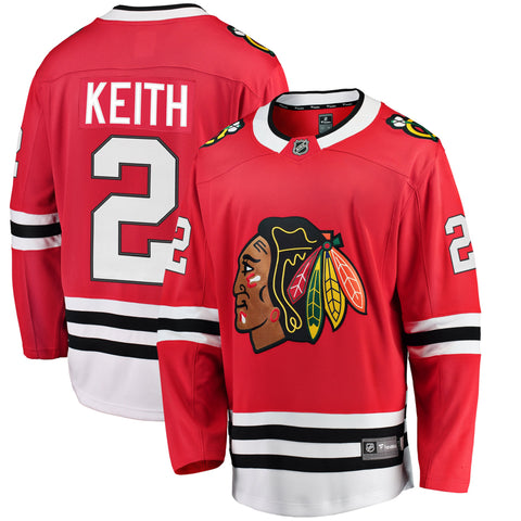 Duncan Keith Chicago Blackhawks NHL Fanatics Breakaway Home Jersey