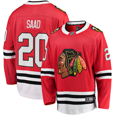 Brandon Saad Chicago Blackhawks NHL Fanatics Breakaway Home Jersey