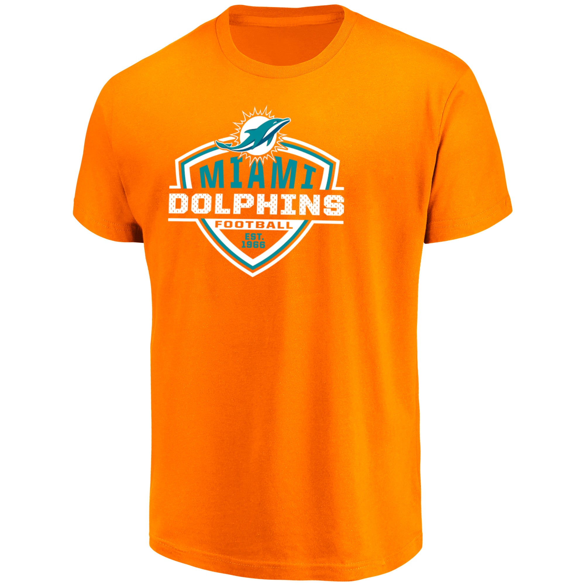 buy online bbc78 e1d44 Miami Dolphins NFL Primary Receiver T-Shirt