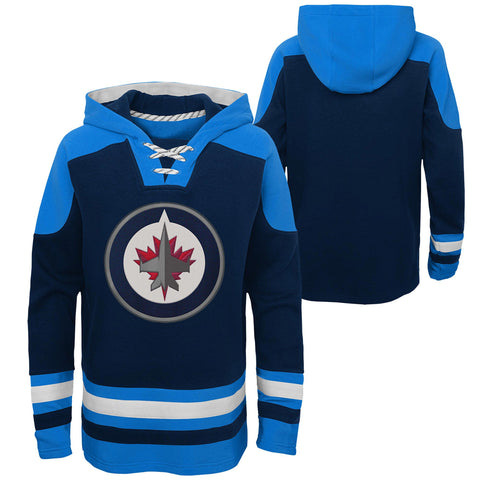 Youth Winnipeg Jets NHL Ageless Must-Have Hockey Hoodie