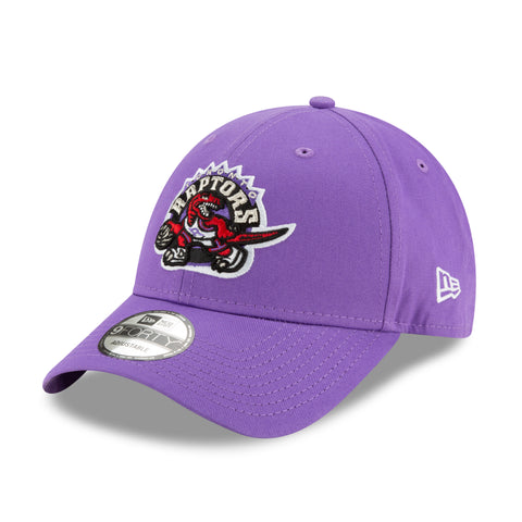 Men's Toronto Raptors NBA Authentics Hardwood Classic Purple 9FORTY Cap