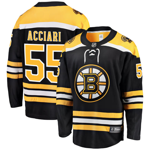 Noel Acciari Boston Bruins NHL Fanatics Breakaway Home Jersey