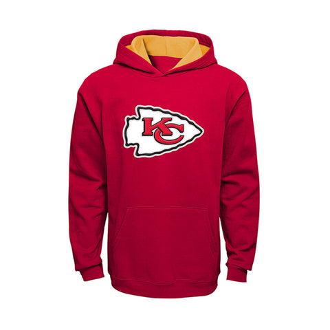Youth Kansas City Chiefs Prime Baisc Pullover Hoodie