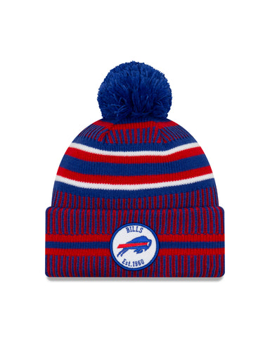 Buffalo Bills NFL New Era Sideline Home Official Cuffed Knit Toque