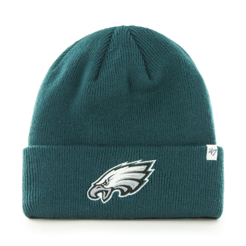 Philadelphia Eagles NFL Raised Cuffed Knit Beanie