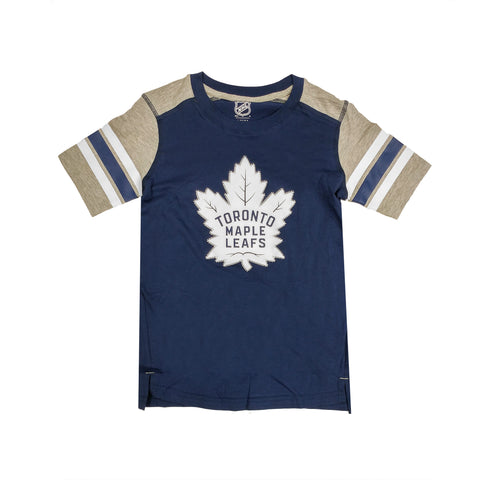 Youth Toronto Maple Leafs NHL Crashing The Net Fashion Tee