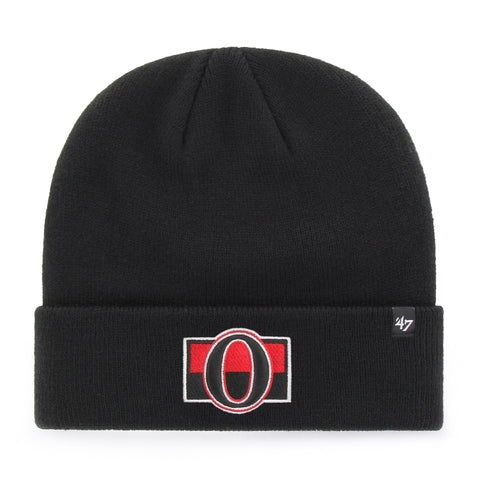 Ottawa Senators NHL Raised Cuffed Knit Beanie