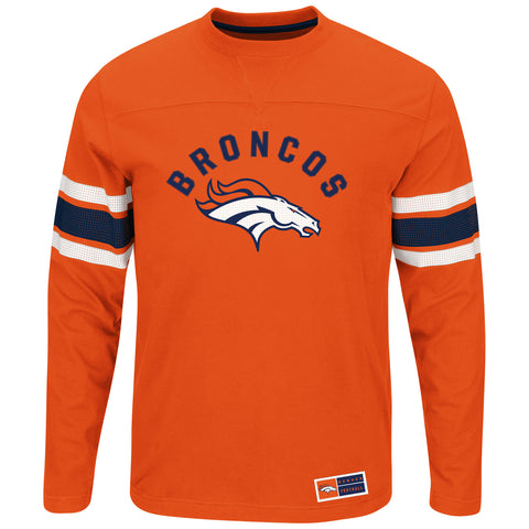 Denver Broncos Power Hit Long Sleeve Tee