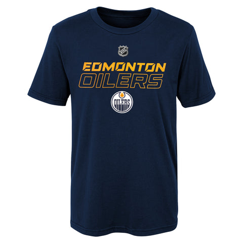 Youth Edmonton Oilers NHL Prime Stock Short Sleeve Tee