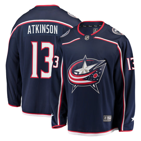 Cam Atkinson Columbus Blue Jackets NHL Fanatics Breakaway Home Jersey