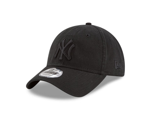 Men's New York Yankees MLB Core Classic Tonal Black 9TWENTY Cap