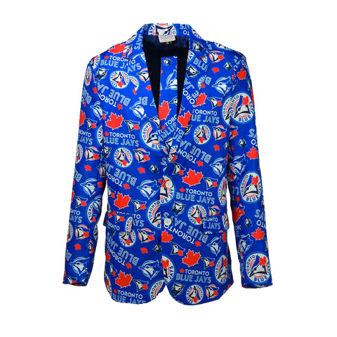 Toronto Blue Jays Men's Team Jacket and Tie Combo
