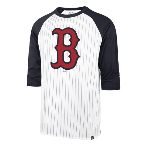 Men's Boston Red Sox MLB Pinstripe Raglan Tee