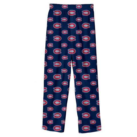 Youth Montreal Canadiens NHL Team Colored Printed Pant