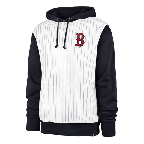 Men's Boston Red Sox MLB Imprint '47 Pinstripe Hoodie