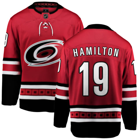 Dougie Hamilton Carolina Hurricanes NHL Fanatics Breakaway Home Jersey