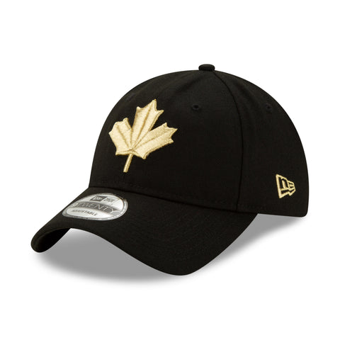 Men's Toronto Raptors NBA Authentics City Series Gold Leaf Logo 9TWENTY Cap