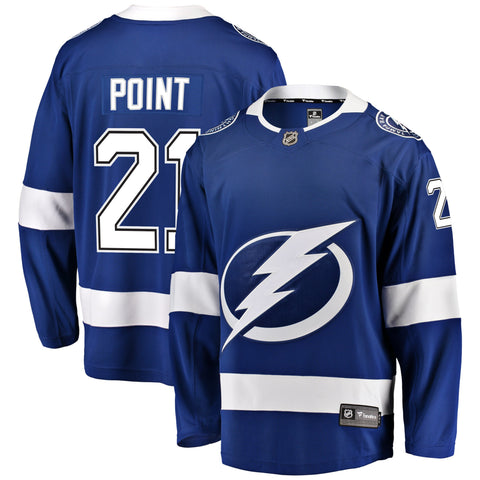 Brayden Point Tampa Bay Lightning NHL Fanatics Breakaway Home Jersey