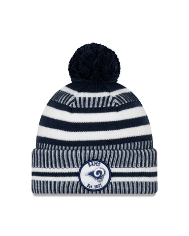Los Angeles Rams NFL New Era Sideline Home Official Cuffed Knit Toque