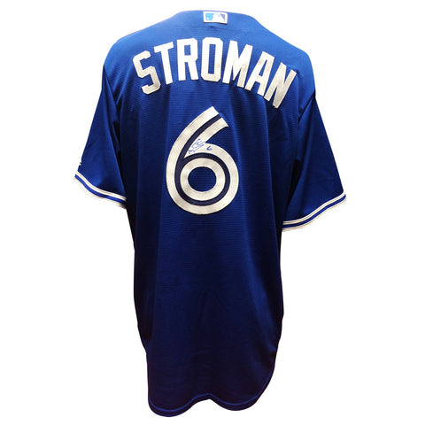 Marcus Stroman Signed Toronto Blue Jays Away Jersey