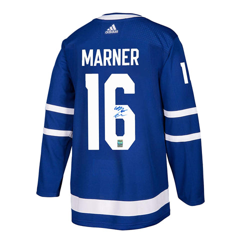 Mitch Marner Signed Toronto Maple Leafs Adidas Pro Jersey