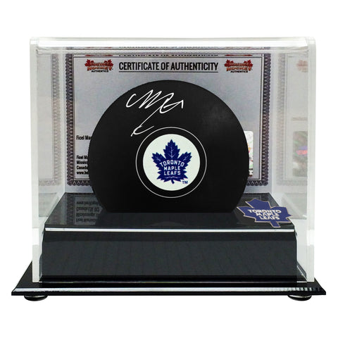 Mitch Marner Signed Toronto Maple Leafs Puck