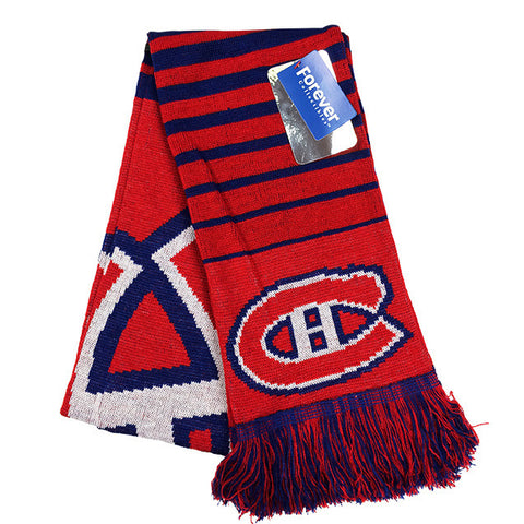Montreal Canadiens Big Logo Scarf
