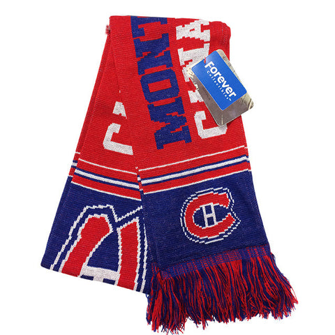 Montreal Canadiens Multi Logo Scarf